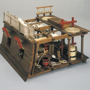 Panart Section Between Decks and Gun Bays Model Kit - Panart (740)