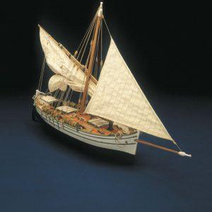 Santa Lucia Smugglers Boat Kit - Panart (744)