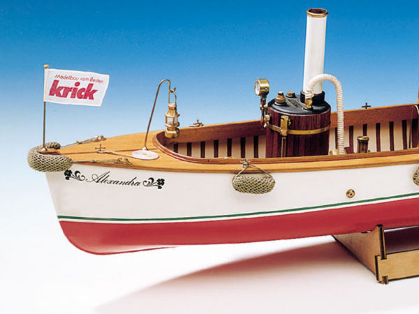 Alexandra Model Ship Kit Including Fittings - Krick (K20281)