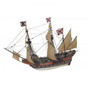 Galeon Santiago De Compostela Ship Model Kit - Disar (20170)