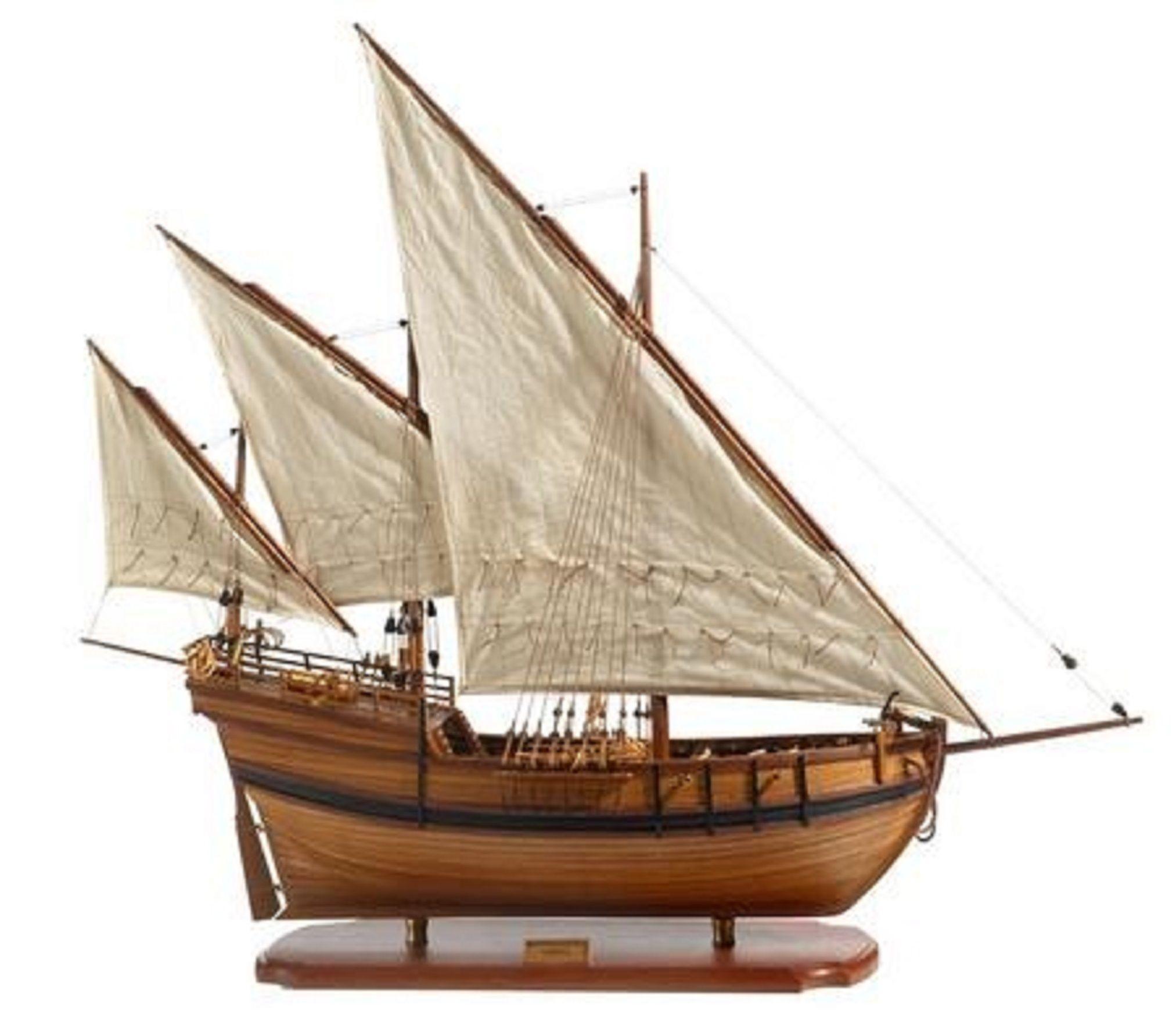 Caravel Model Ship Premier Range Handcrafted Wooden Ready