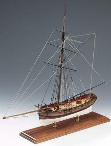 Lady Nelson Ship Model Boat Kit - (Victory Models 1300-01)