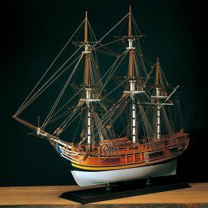 HMS Bounty Model Boat Kit Scale 1 to 60 - Amati (1432)