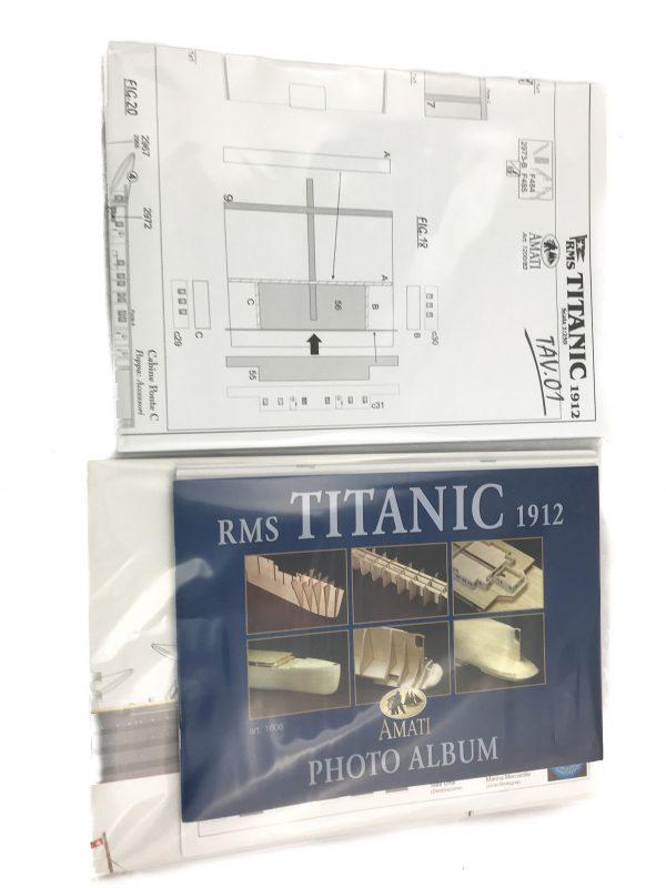 Titanic Model Ships Kit  Amati (1606)