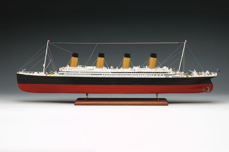 Rms Titanic 3 Model Ships Kit Amati 1606