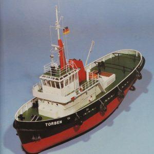 Torben Tug Model Boat Kit Including fittings - Aeronaut (AN3031/03)