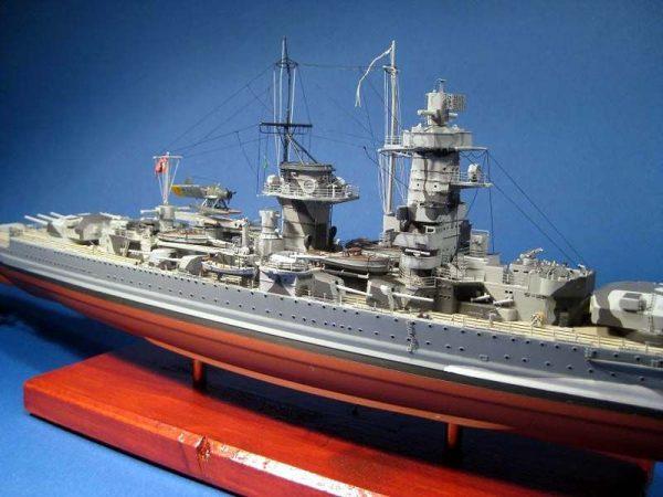 Graf Spee Model Boat Kit Aeronaut Including Fittings (AN3600/03)