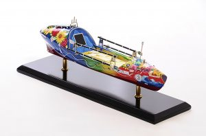 Ocean Rowing Boat Model