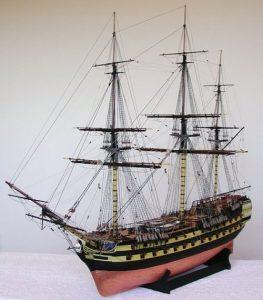 HMS Vanguard Model Ship Kit - (Victory Models 1300-04)