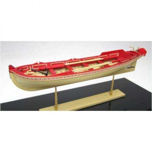 21 Foot English Pinnace (1750 – 1760) Model Boat Kit - Model Shipways (MS1458)