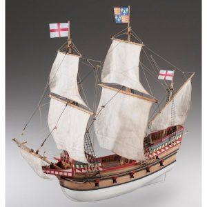 Golden Hind Model Boat Kit - Dusek (D017)
