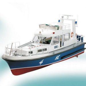 HE4 Police Boat Model Boat Kit inc. Fittings - Krick (K20330C)