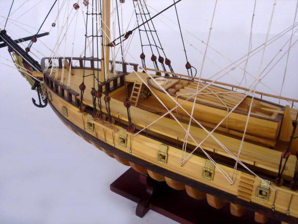 2097-12866-USS-Rattlesnake-Ship-Model-with-Frame-Hull