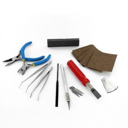 18 Piece Hobby and Craft Tool Set (PTK 1018)
