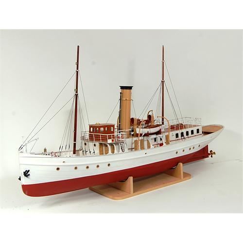 Schaarhorn Steam Yacht Model Ship Kit - Caldercraft (7021)