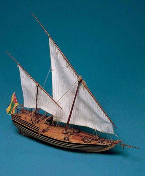 Al Bahran Model Boat Kit - Corel (SM36)