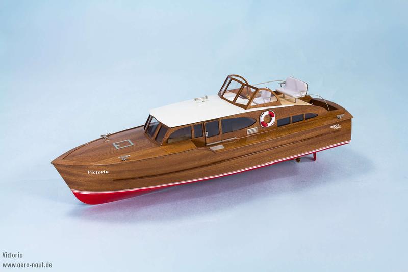 Victoria Luxury Yacht Model Boat Kit (AN3082.00)