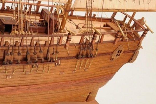 1232-7327-HMS-Endeavour-Open-Hull-Model-Ship-Premier-range