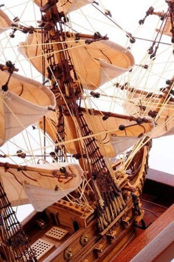 1254-7024-Bristol-Waterline-Model-Ship-Premier-Range