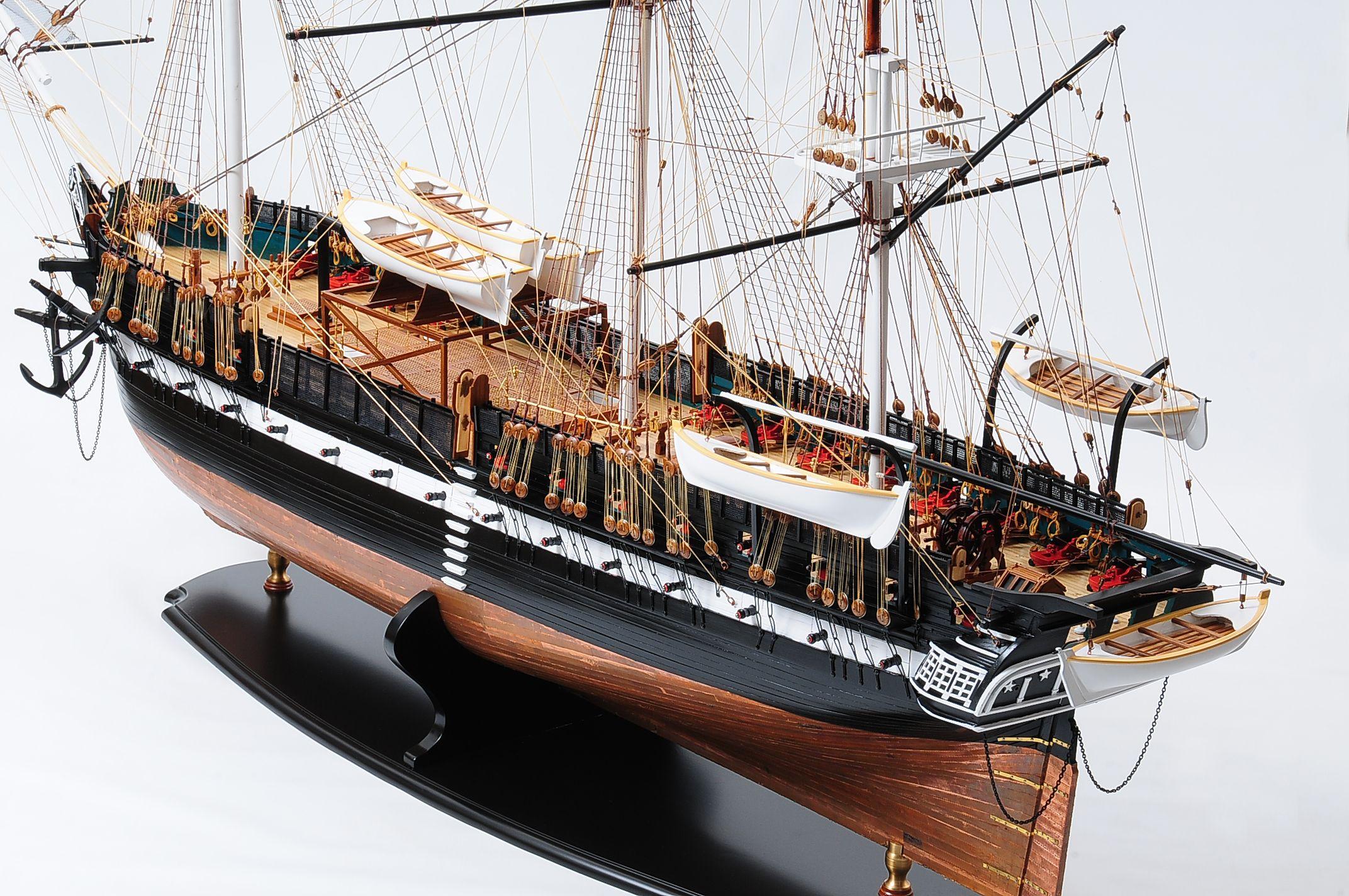 1258-7883-USS-Constitution-Model-Ship-Premier-Range