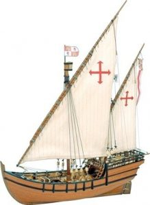 129-La-Nina-Model-Boat-Kit-Artesania-Latina-22410