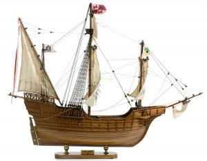 138-8574-Santa-Maria-Model-Ship-Superior-Range