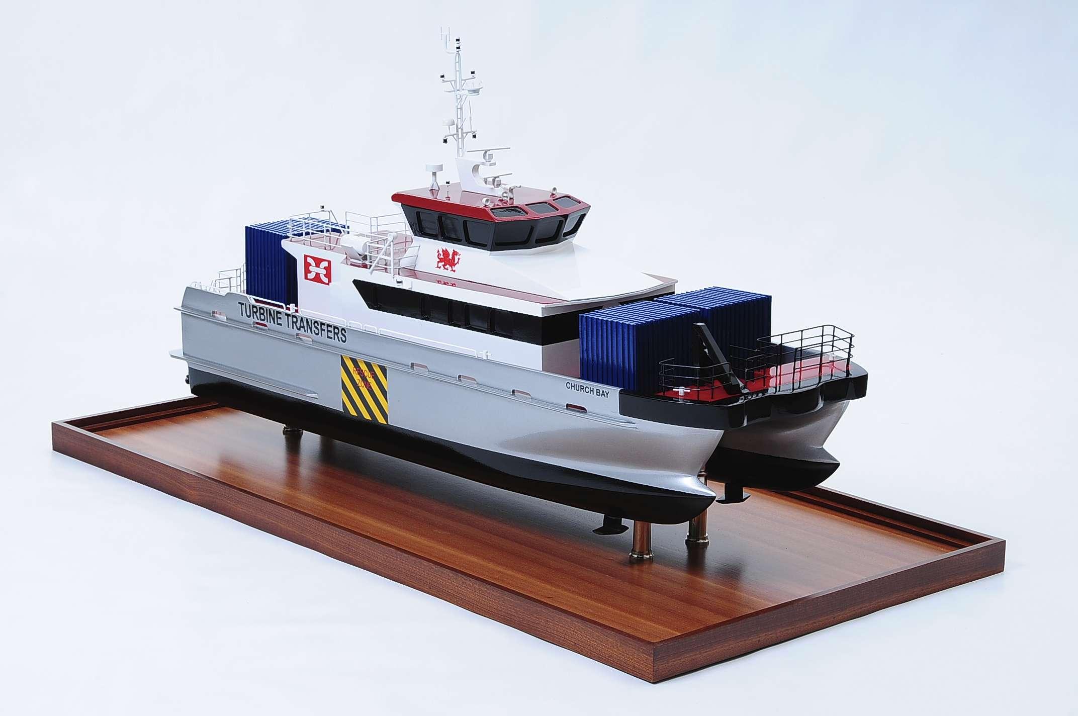 Turbine Transfer Catamaran Model