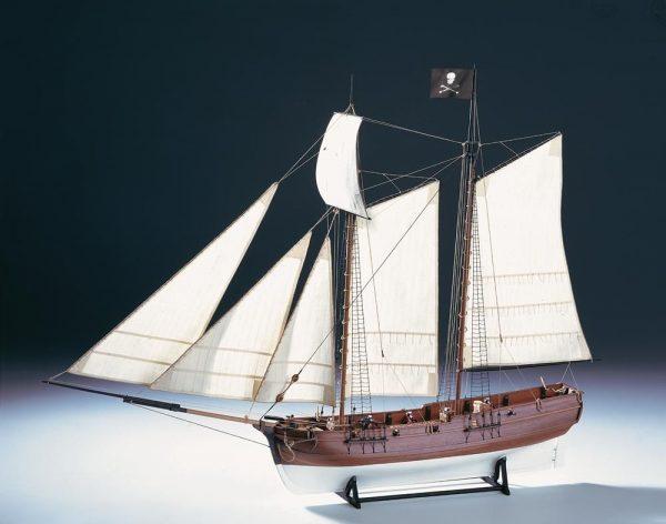 1553-9205-Pirate-Ship-Adventure-Model-Boat-Kit