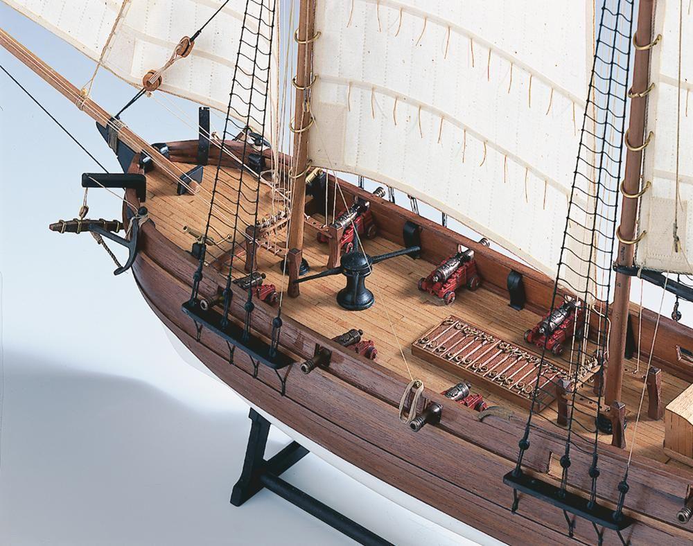 1553-9208-Pirate-Ship-Adventure-Model-Boat-Kit