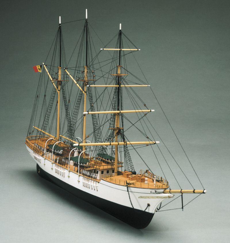 Belgium Sail Trainer Model Ship Kit (Mercator) - Mantua Models (757)