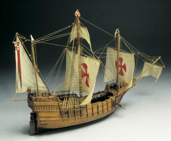 1584-9281-Santa-Maria-1492-Model-Kit
