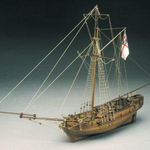 HMS Sharke Sloop Model Ship Kit - Sergal (783)