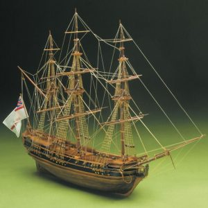 HMS President Frigate Model Boat Kit - Sergal (792)