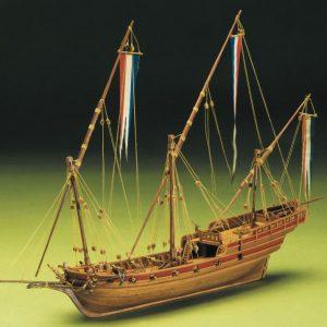 1599-9292-French-Xebec-Model-Boat-Kit
