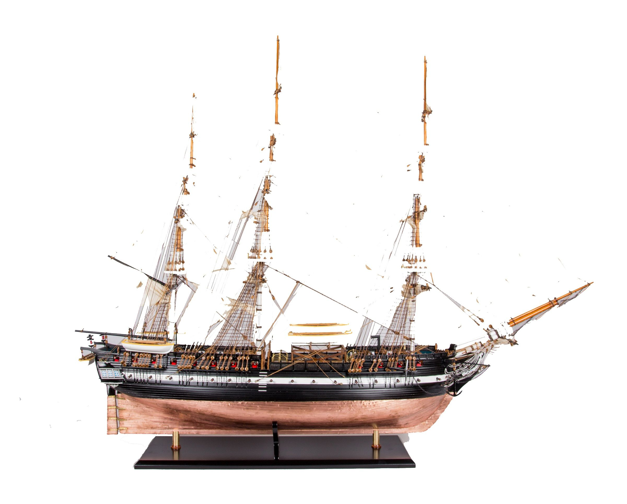 1664-9335-USS-Constitution-Ship-Model