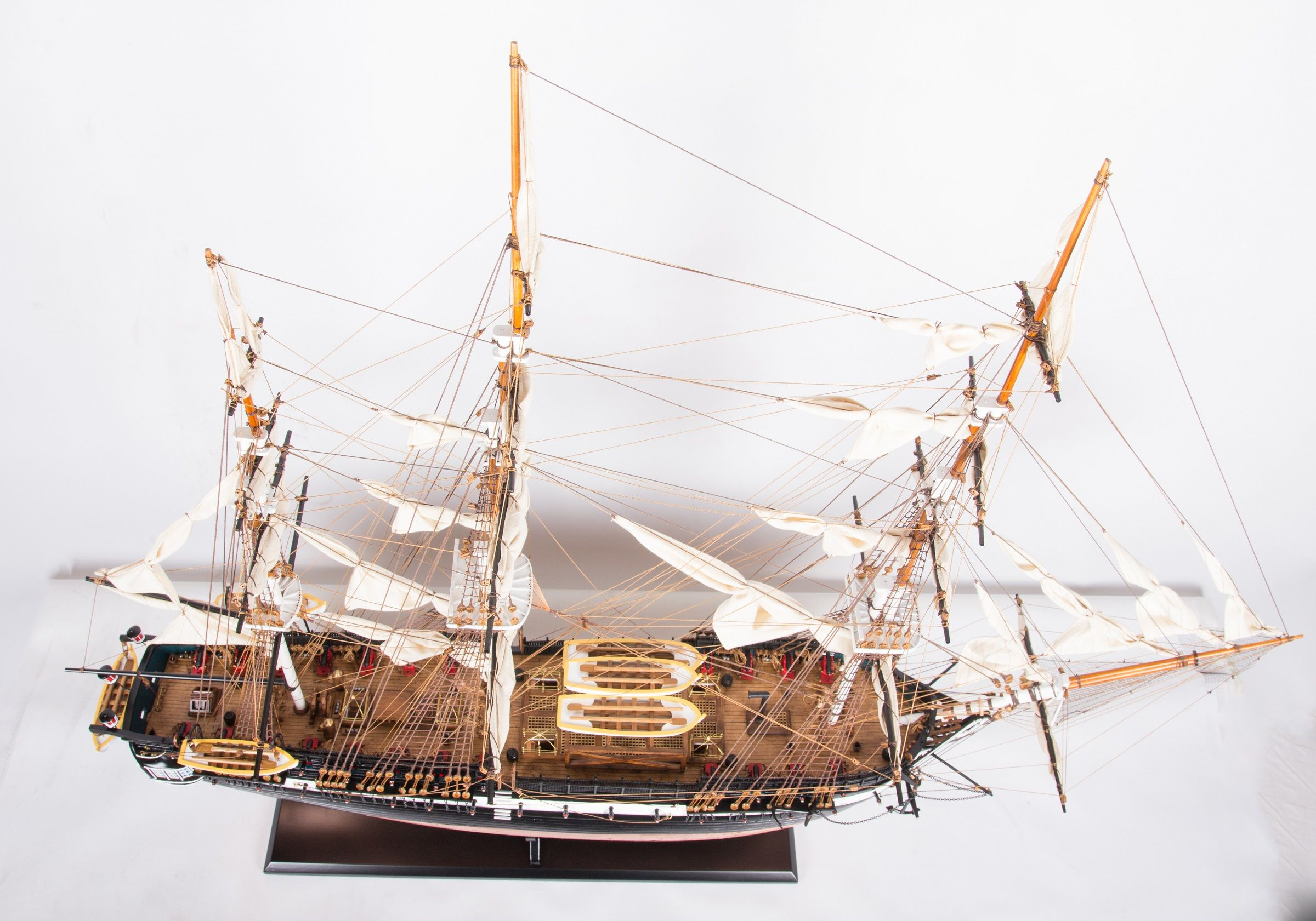 1664-9346-USS-Constitution-Ship-Model