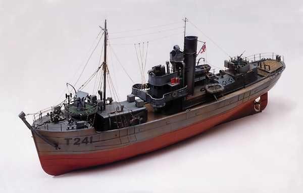 Sir Kay Minesweeper Model Ship Kit - Caldercraft (7011)