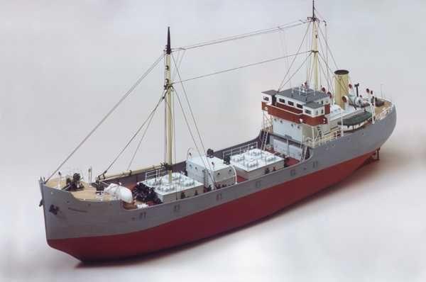 Brannaren Swedish Coastal Tanker Model Kit - Caldercraft (7015)