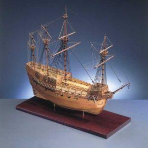 1716-9672-Mary-Rose-Model-Ship-Kit