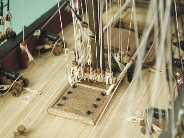 1727-9738-HM-Bomb-Vessel-Granado-Model-Boat-Kit