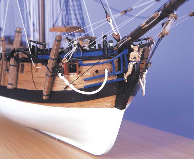 1727-9740-HM-Bomb-Vessel-Granado-Model-Boat-Kit