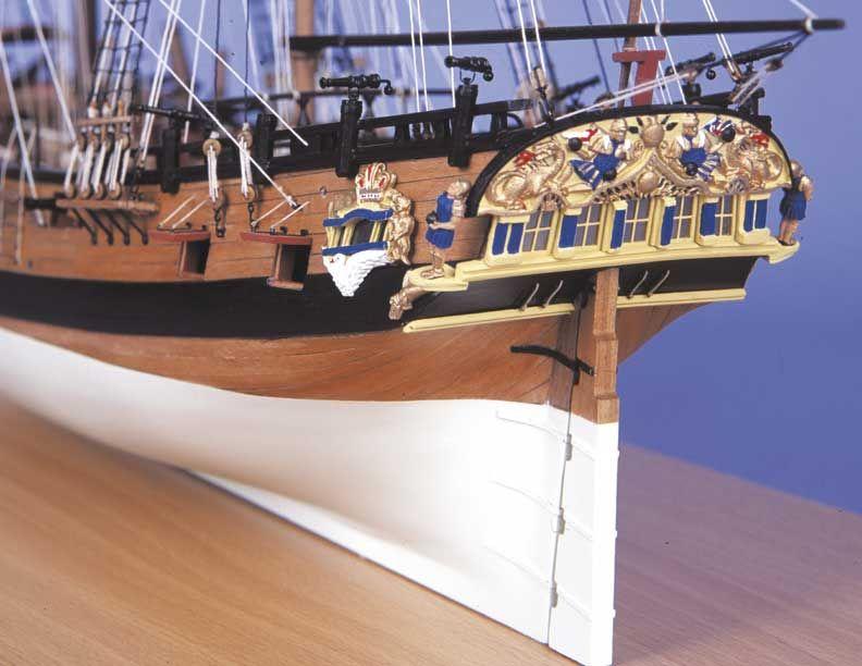 1727-9741-HM-Bomb-Vessel-Granado-Model-Boat-Kit