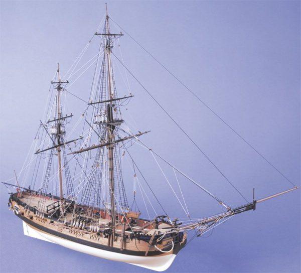 1727-9742-HM-Bomb-Vessel-Granado-Model-Boat-Kit
