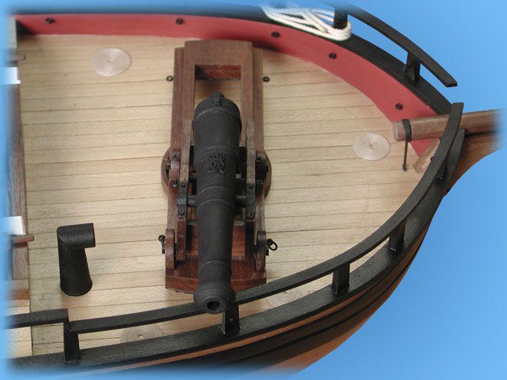 1728-9750-HM-Gunboat-William-Model-Ship-Kit
