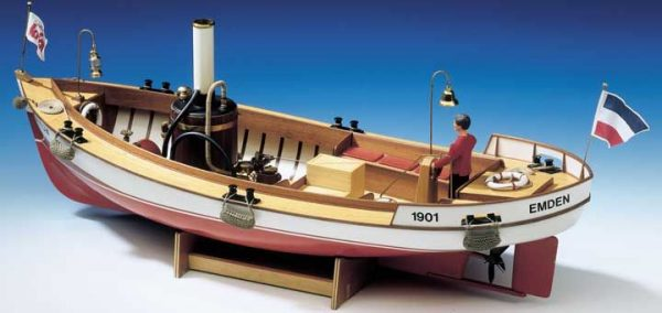 Borkum Boat Kit Including Fittings - Krick (K20291)