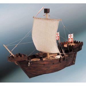 1881-11334-Hanse-Kogge-Model-Ship-Kit-Dusek-D003