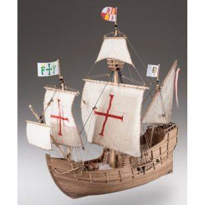 1886-11354-Santa-Maria-Model-Boat-Kit-Dusek-D008