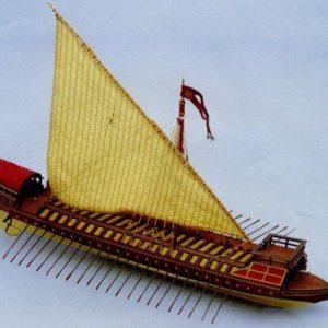 1909-11422-La-Capita-DI-Ventia-Model-Ship-Kit-Aeronaut-AN325503
