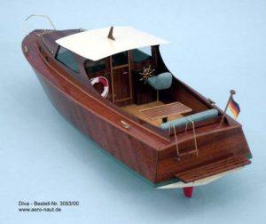 1913-11426-Diva-Cabin-Cruiser-Ship-Model-Kit-Aeronaut-AN309300