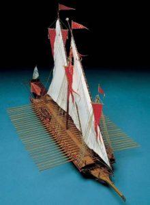 1929-11458-Reale-de-France-Model-Ship-Kit-Corel-SM25